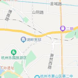 萧山地图找房 萧山房产电子地图 萧山楼盘分布图 杭州安居客